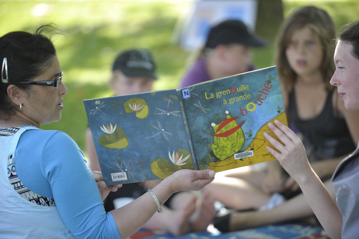 livre-lecture en herbe