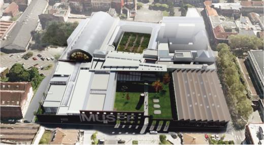 Projet d'extension du musée La Piscine.