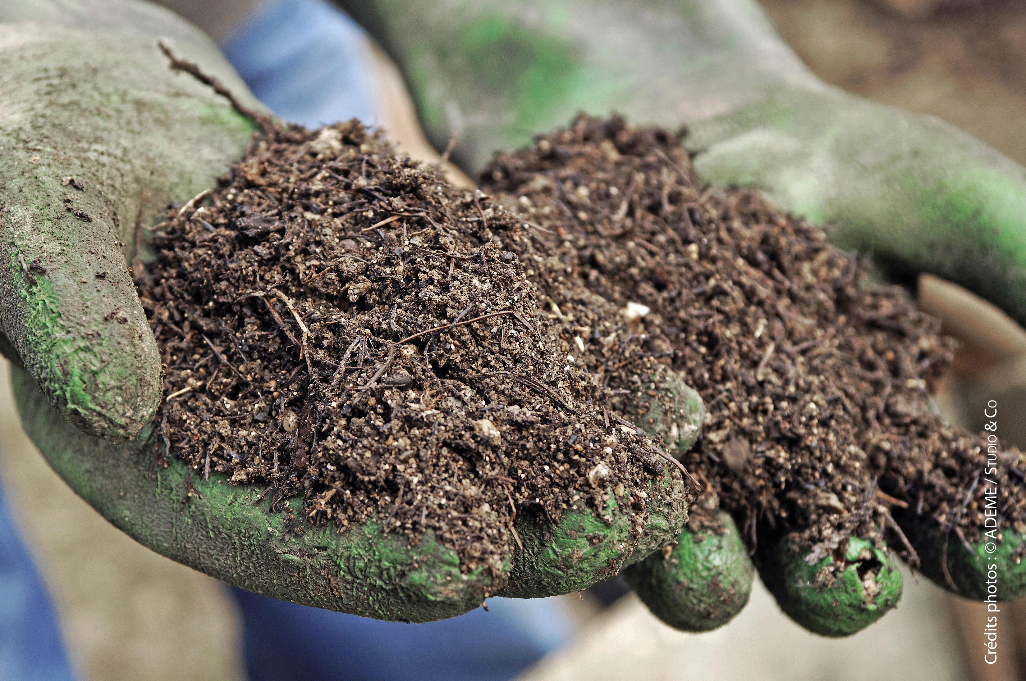 un compost prêt à l'emploi