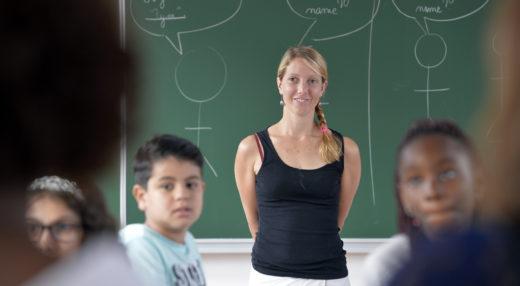 élève en classe