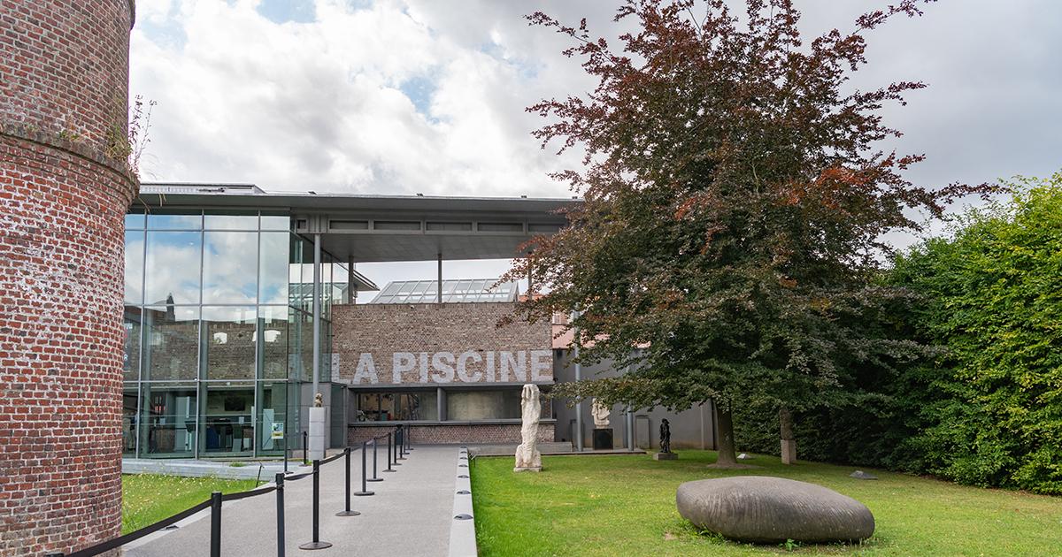 Entrée Musée la Piscine