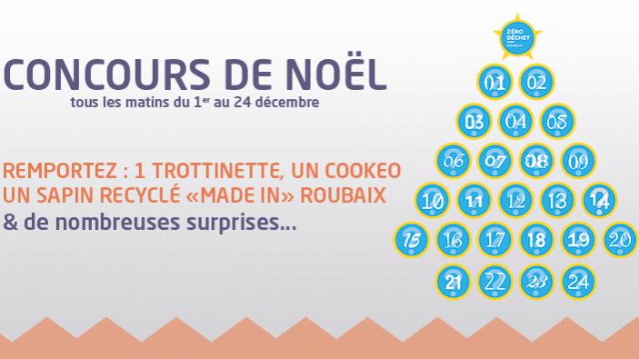 Jeu Concours Tentez De Gagner Vos Cadeaux De Noel Zero Dechet Roubaixxl
