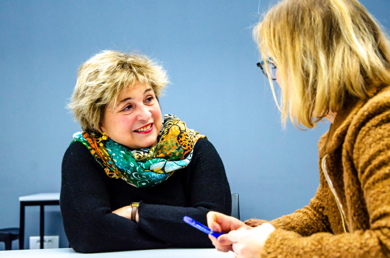 Catherine Dolt, médecin pédiatre et haptothérapeute