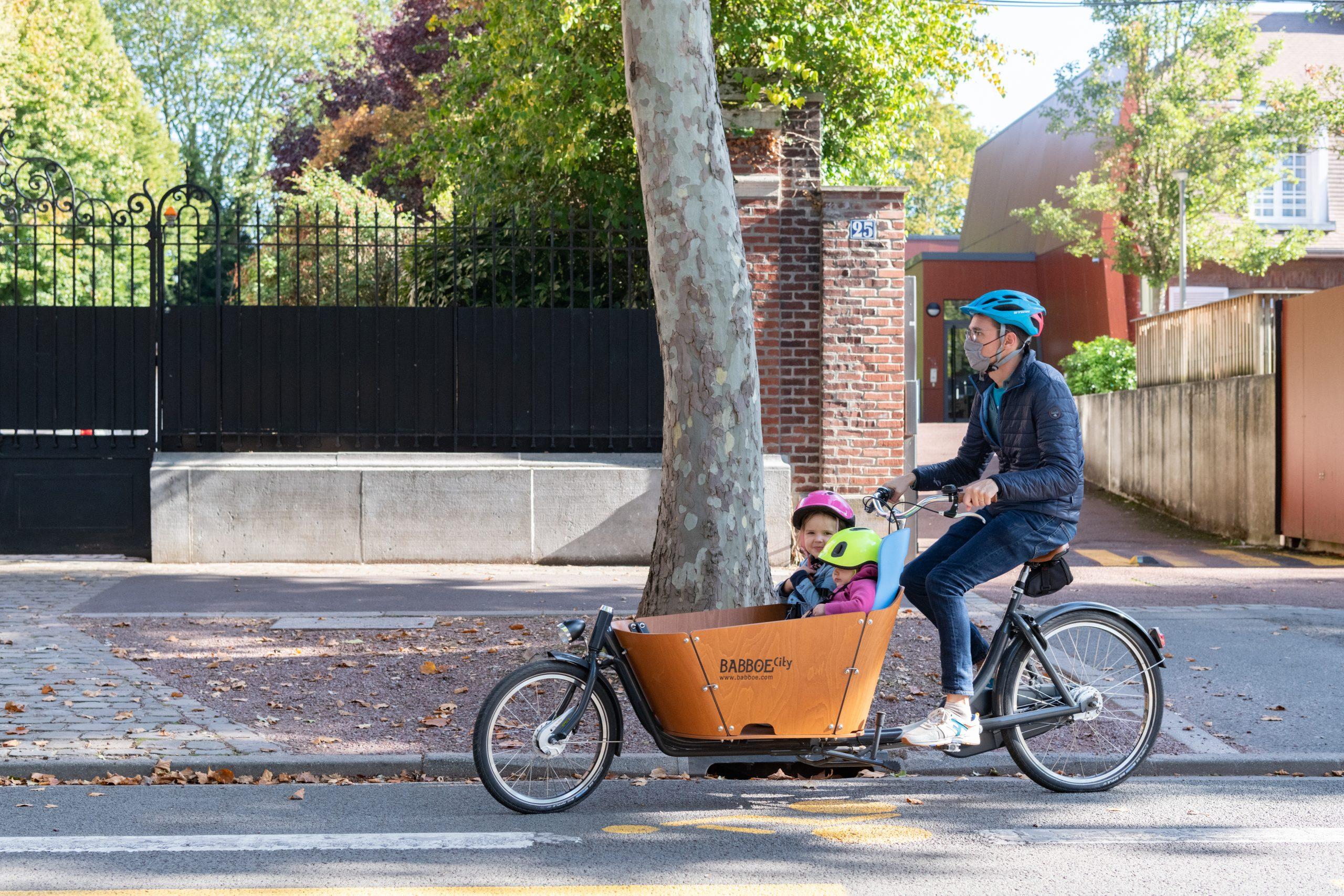 Image illustrant la pratique du Vélo à Roubaix