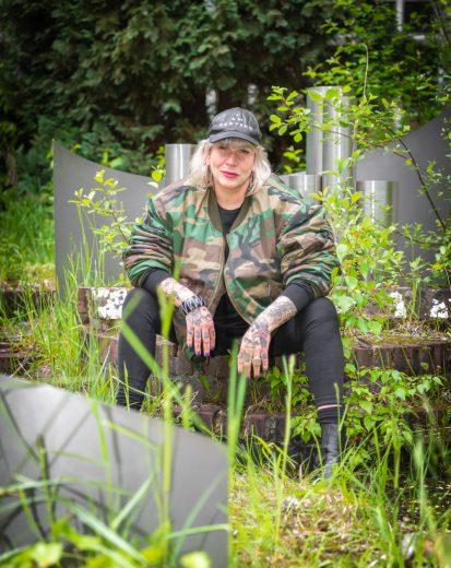 Julie Antoine, directrice artistique du Couvent à Roubaix