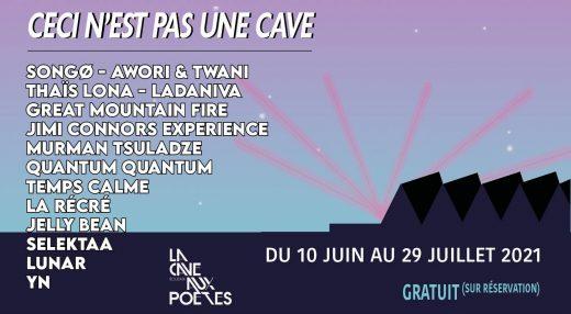 Bannière Ceci n'est pas une Cave , La Cave aux Poètes ,Roubaix