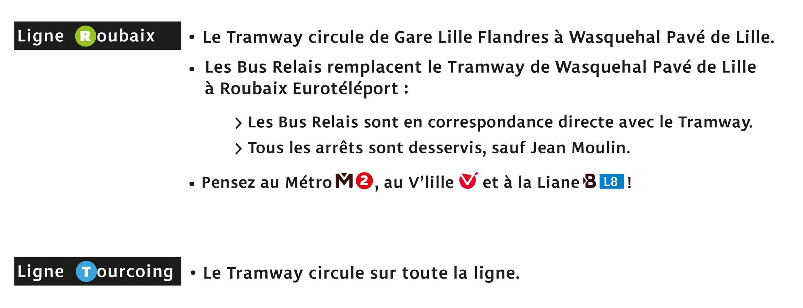 Travaux Tram Ligne R