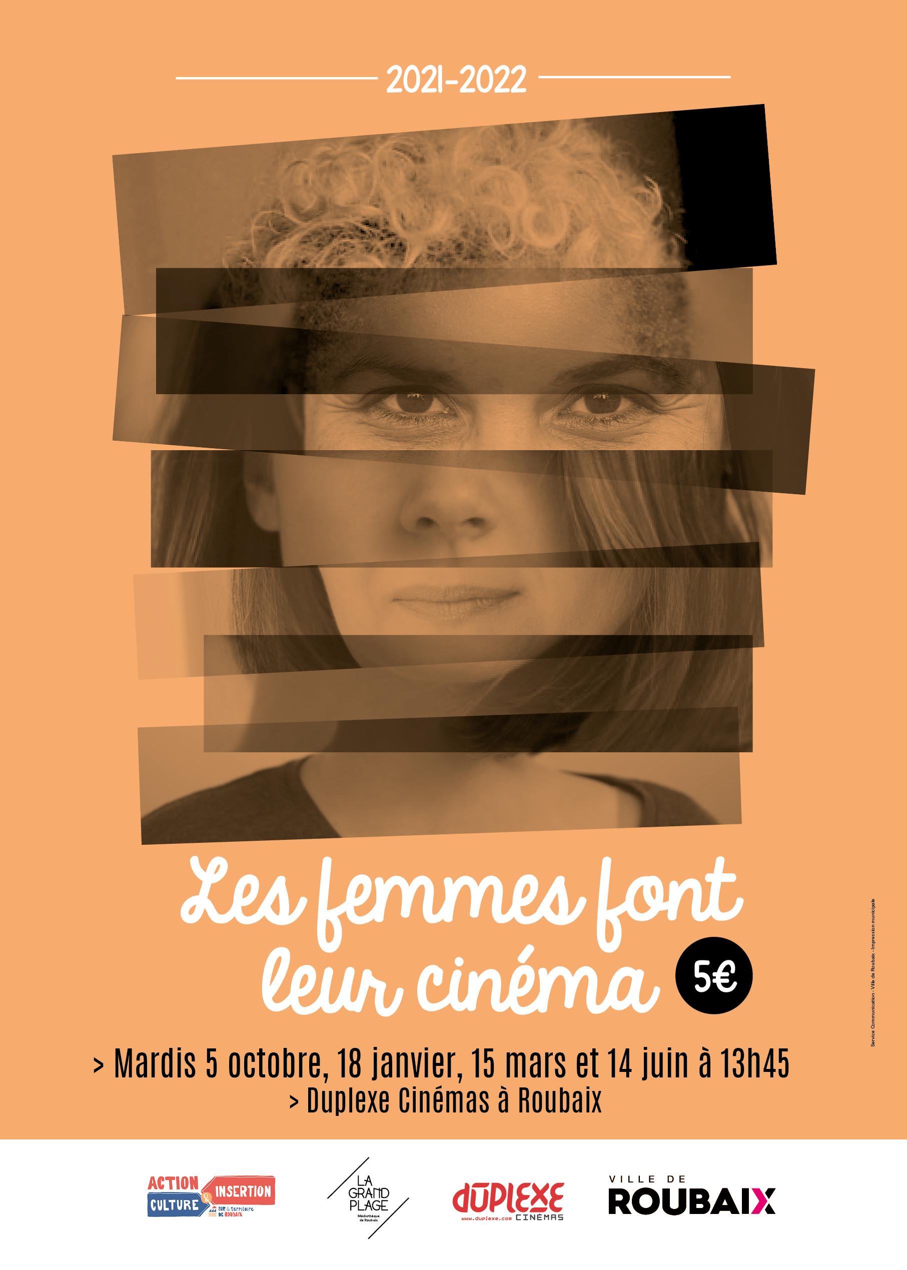 Affiche Les Femmes font leur cinéma 2021