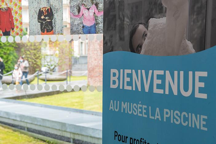 affiche musée La Piscine