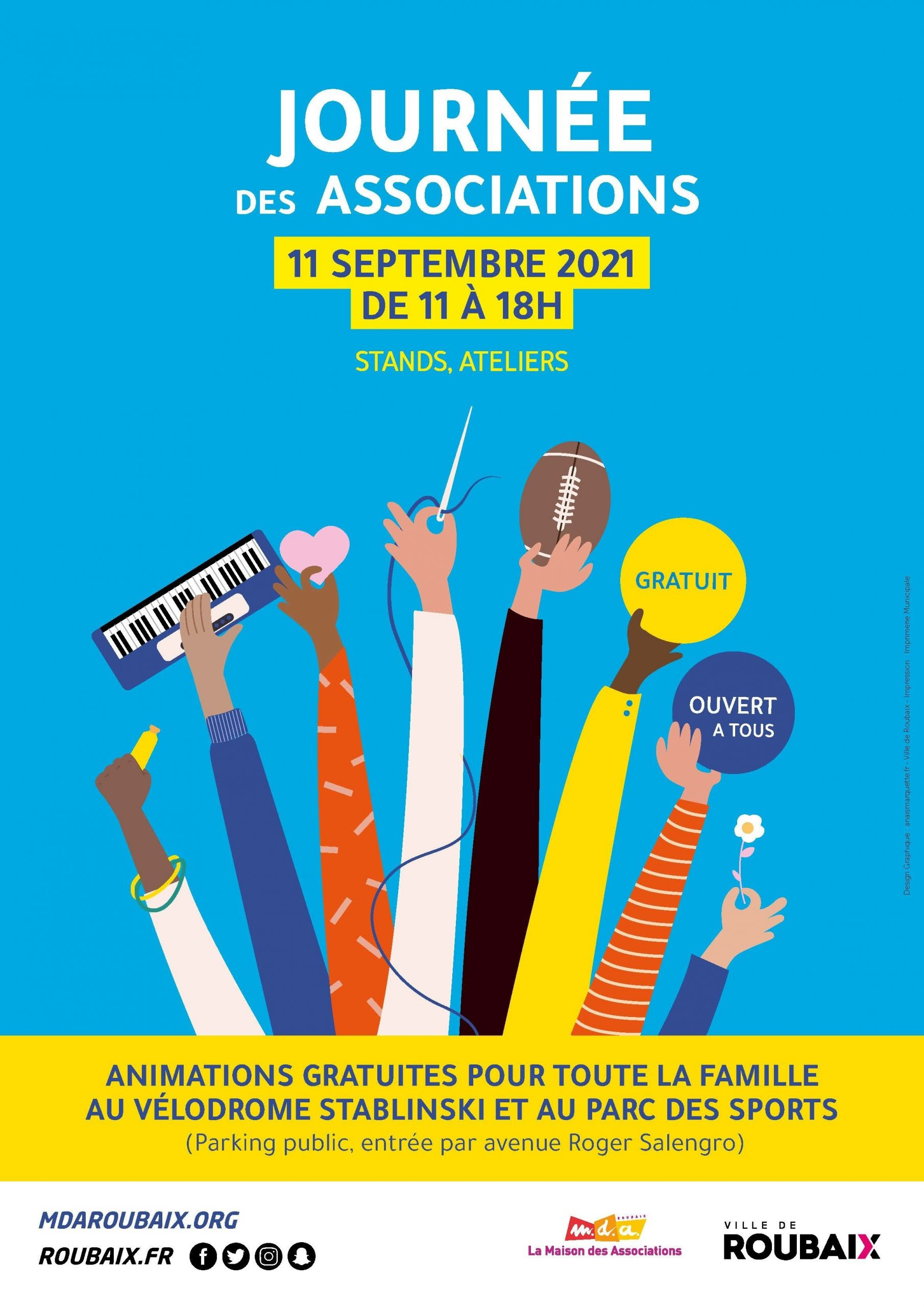 Affiche Journée des Associations 2021