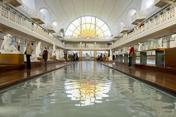 le bassin du musée