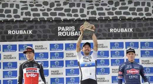 Podium Paris Roubaix 2021