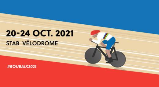 Bannière Championnat du Monde Cyclisme sur Piste2021